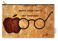 Coffee Lovers Quote 2 Carry-all Pouch