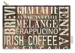 Coffee Of The Day 1 Carry-all Pouch by Debbie DeWitt