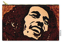 Coffee Painting Bob Marley Carry-all Pouch