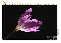 Carry-all Pouch featuring the photograph Colchicum  by Judy Whitton