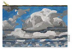 Cold Air Mass Cumulus Carry-all Pouch by Phil Chadwick