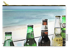 Cold Beers In Paradise Carry-all Pouch by Joan  Minchak