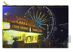 Cold Drink And Funnel Cakes Carry-all Pouch