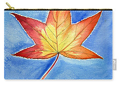 Cold Fall Sky Carry-all Pouch by Katherine Miller