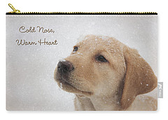 Cold Nose Warm Heart Carry-all Pouch