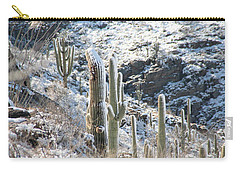 Cold Saguaros Carry-all Pouch