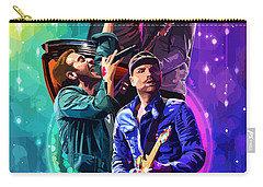 Coldplay Mylo Xyloto Carry-all Pouch by FHT Designs