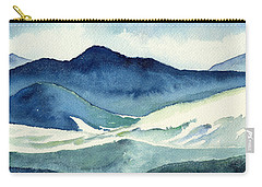 Coldscape Carry-all Pouch by Katherine Miller
