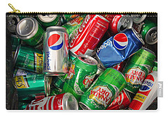 Collection Of Cans 02 Carry-all Pouch by Andy Lawless