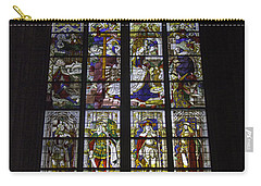 Cologne Cathedral Stained Glass Window Of The Nativity Carry-all Pouch