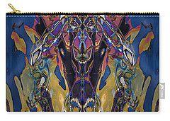 Color Abstraction Xxi Carry-all Pouch