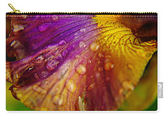 Color And Droplets Carry-all Pouch by Jeff Swan