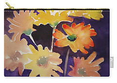 Color And Whimsy Carry-all Pouch by Marilyn Jacobson