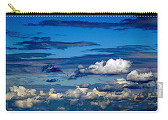 Color Burned Clouds Carry-all Pouch