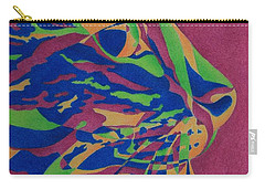 Color Cat I Carry-all Pouch by Pamela Clements