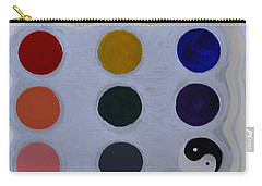 Color From The Series The Elements And Principles Of Art Carry-all Pouch