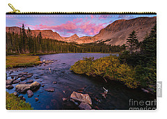 Color Over  Indian Peaks Carry-all Pouch by Steven Reed