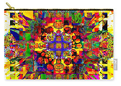 Color Splash Squared Carry-all Pouch