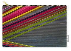 Carry-all Pouch featuring the photograph Color Strips by Stuart Litoff