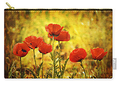 Carry-all Pouch featuring the photograph Colorado Poppies by Tammy Wetzel