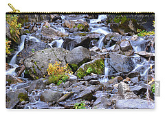 Colorado Waterfall Mountain Stream Carry-all Pouch by Andrea Hazel Ihlefeld