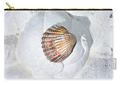 Colored Seashell  Carry-all Pouch