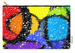 Colorful Abstract 3 Carry-all Pouch