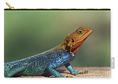 Colorful Awesomeness... Carry-all Pouch by Nina Stavlund