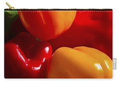 Carry-all Pouch featuring the photograph Colorful Bells by Gary Holmes