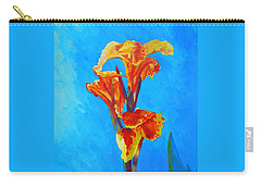 Colorful Canna Carry-all Pouch
