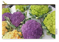 Carry-all Pouch featuring the photograph Colorful Cauliflower by Caryl J Bohn