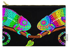 Colorful Companions Carry-all Pouch by Nick Gustafson