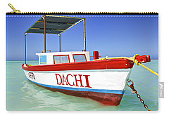 Colorful Fishing Boat Of The Caribbean  Carry-all Pouch