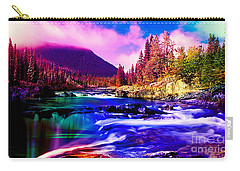Colorful Landscape Carry-all Pouch by Marvin Blaine