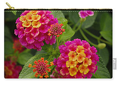 Colorful Lantana  Carry-all Pouch