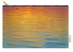 Colorful Lowtide Sunset Carry-all Pouch