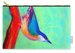 Colorful Nuthatch Bird Carry-all Pouch