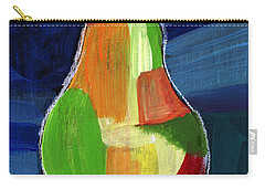 Colorful Pear- Abstract Painting Carry-all Pouch