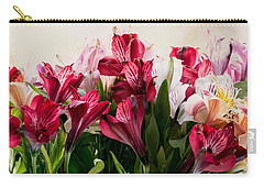 Colorful Peruvian Lillys Carry-all Pouch