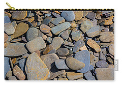 Colorful River Rocks Carry-all Pouch