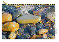 Colorful Shore Rocks Carry-all Pouch