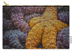 Colorful Starfish Carry-all Pouch