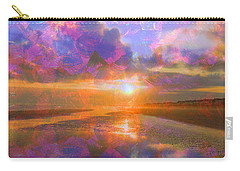 Colorful Sunset By Jan Marvin Carry-all Pouch