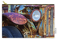 Colorful Vintage Car Carry-all Pouch