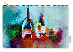 Colorful Wine Serenade Carry-all Pouch by Lisa Kaiser