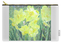 Colorful  Yellow Flowers Carry-all Pouch