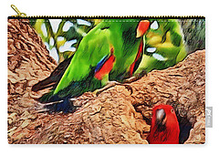 Colorfully Bright Carry-all Pouch