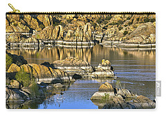Colors In The Rocks At Watsons Lake Arizona Carry-all Pouch