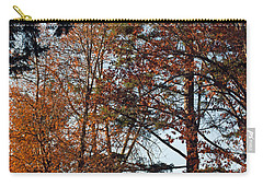 Carry-all Pouch featuring the photograph Colors Of Autumn by Tikvah's Hope
