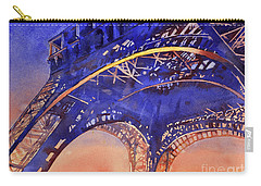 Colors Of Paris- Eiffel Tower Carry-all Pouch
